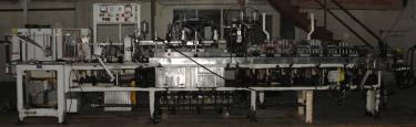 Form Fill and Seal KHS Klockner Bartelt horizontal form fill seal model IM7-14, 6 lane Eagle scales, up to 100 ppm