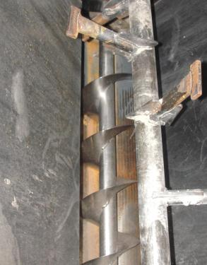 Granulator 200 hp densifier 24 cu ft chamber 1 rotating blade