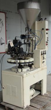 Filler single piston filling heads MRM Elgin tube filler model E