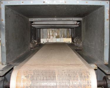 Shrink Tunnel Shanklin Corp electric shrink tunnel model HY-Velair T-7P, 22 wide x 9 tall work opening