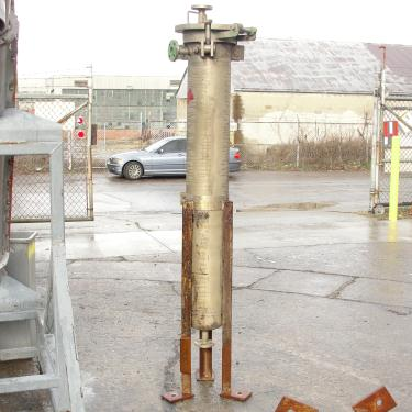 Filter 10 gallon basket strainer (single), Stainless Steel