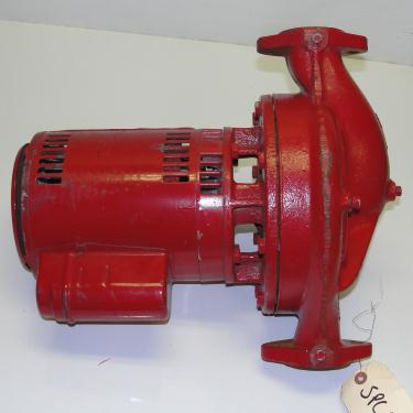 Pump Bell and Gossett centrifugal pump, .5 hp, Cast Iron