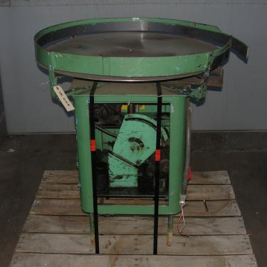Accumulation Table 35 rotary accumulation table, Stainless Steel Contact Parts