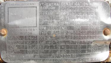 Homogenizer 40 hp Sonic Corp/Moyno inline homogenizer model XS-1500, 8 inlet, Stainless Steel
