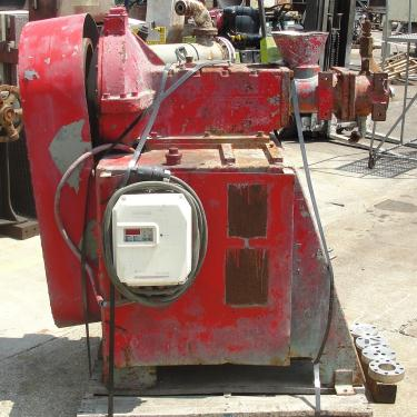Extruder 2.75 diameter Welding Engineers Inc model D-2 3/4 10-EC chemical extruder, 1.4 screw length, 10 hp drive