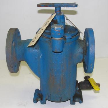 Filtration Equipment 2 Hayward basket strainer (single), Cast Iron