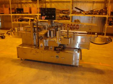 Labeler New Jersey pressure sensitive labeler model 311, front & back,
