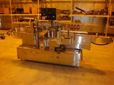 Labeler New Jersey pressure sensitive labeler model 311, front and back,