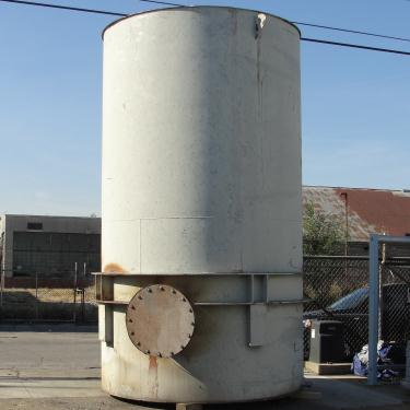 Tank 5000 gallon vertical tank, Stainless Steel, flat