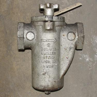 Filtration Equipment 2 Mueller basket strainer (single), Cast Iron