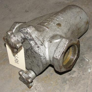 Filtration Equipment 2 Mueller basket strainer (single), Cast Iron