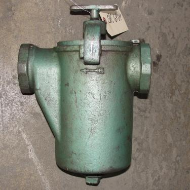 Filtration Equipment 2 Hayward basket strainer (single), Cast Iron