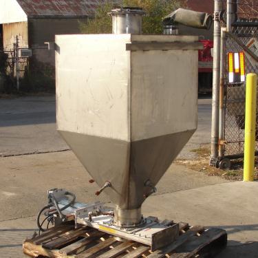 Bin 15 cu.ft., bulk storage bin, Stainless Steel