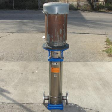 Pump GandL Goulds Pumps centrifugal pump, 10 hp, 304 SS