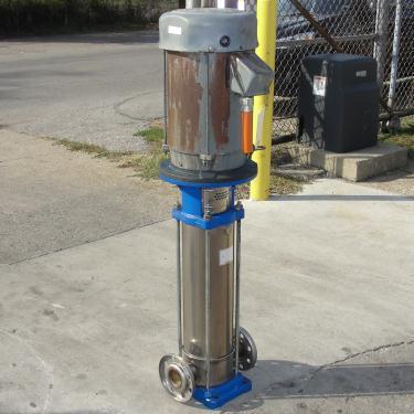 Pump G&L Goulds Pumps centrifugal pump, 10 hp, 304 SS