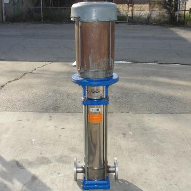 Pump G&L Goulds Pumps centrifugal pump, 10 hp, 304 SS