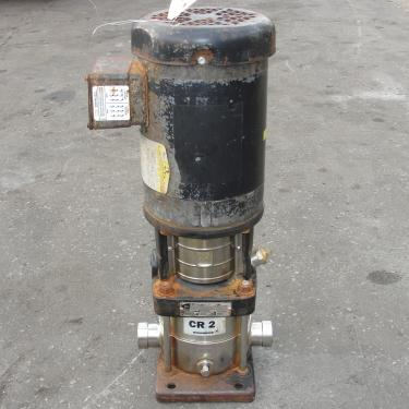 Pump Grundfos centrifugal pump, 1 hp, 316 SS