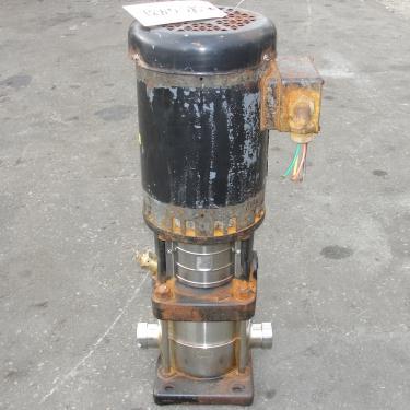 Pump Grundfos centrifugal pump, 1 hp, 316 SS