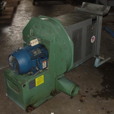 Blower 1800 cfm centrifugal fan American Fan Co model VP-3-08S-19A, 10 hp, CS