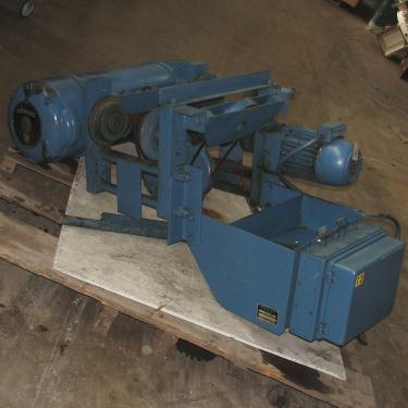 Material Handling Equipment chain hoist, 10000 lbs. Demag model EKP 210 H11LG 4/1, 5 ton capacity
