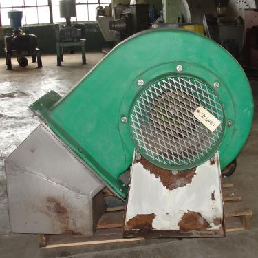 Blower 3500 cfm centrifugal fan Hartzell model 41-15-GL3, Fiberglass