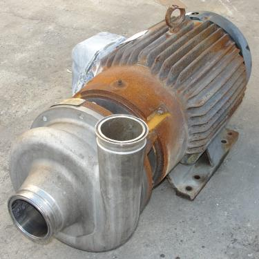 Pump 3x2.5x6.5 AMPCO centrifugal pump, 20 hp, 316 SS