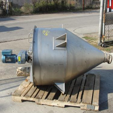 Bin 14 cu.ft., bulk storage bin, Stainless Steel