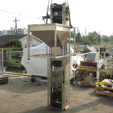 Conveyor New England Machinery bucket elevator Stainless Steel, 18 x 10