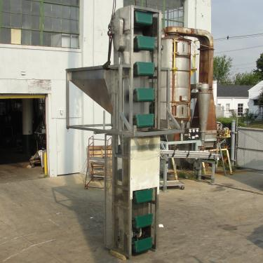 Conveyor New England Machinery bucket elevator Stainless Steel, 18 x 10