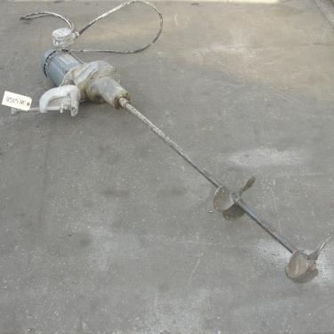 Agitator 1/3 hp electric INDCO clamp-on agitator, model G-13E