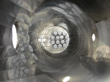 Bin 260 cu.ft., bulk storage bin, Stainless Steel
