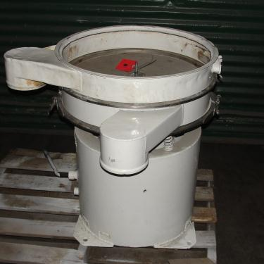 Screener and Sifter 24 Process Packages Inc circular shaker screener, 1 decks, CS