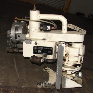 Material Handling Equipment Wizard Drum Tool Co. model HD-RFA 55 gallon drum deheader, pnuematic