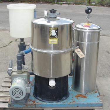 Filtration Equipment 36 sqft Serfilco cartridge filter model 22899132691, Stainless Steel