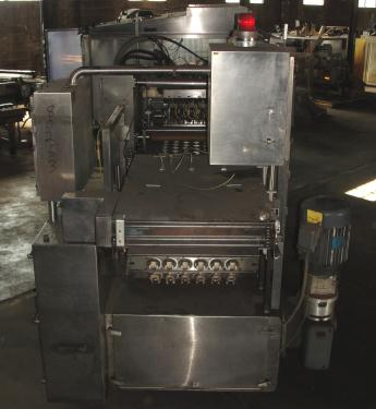 Filler 6 lane, 12 filling heads Osgood Industries Inc cup filler model 6100, up to 350 cpm