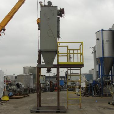 Dust Collector 110 sq.ft. Flex-Kleen reverse pulse jet dust collector