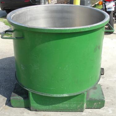 Mixer and Blender 100 gallon Ross change can Stainless Steel 39.25 inside diameter 27.5 inside height