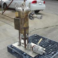 Filtration Equipment 600 psi @ 200° F Strainrite basket strainer (single), 6 gallon capacity, model UF 1-90, 316 SS