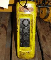 Material Handling Equipment chain hoist, 2000 lbs. Budgit model 11689957, 10 chain