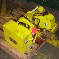 Material Handling Equipment chain hoist, 2000 lbs. Budgit model 11689957, 10