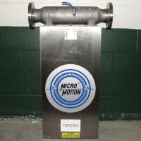 Miscellaneous Equipment 3 MicroMotion model D300S-SS-A150 mass flow meter up to 7000 lb/min flow range Stainless Steel