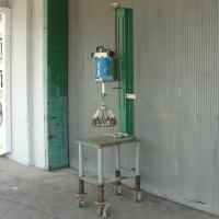 Capping Machine Atlanta Grotnes overcapper 2 gallon steel pail lid crimper