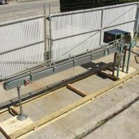Conveyor table top conveyor Stainless Steel, 4.5 w x 157 l