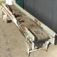 Conveyor Interlake belt conveyor CS, 13.5 w x 105 l