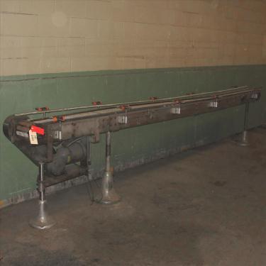 Conveyor Interlake belt conveyor CS, 10 w x 76 l