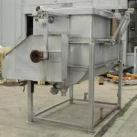 Kettle 650 gallon L & A Engineering processor kettle, agitator rotating tubular spiral heat exchanger, Stainless Steel