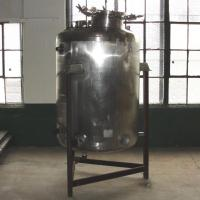 Reactor 250 gallon Custom Fabricating chemical reactor, 150 psi internal, 150 psi jacket