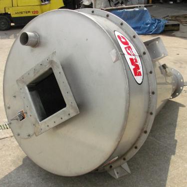 Bin 35 cu.ft., bulk storage bin, Stainless Steel