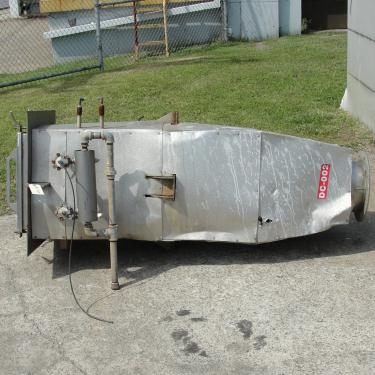 Dust Collector 41 sq.ft. C.P.E. Filters Inc. reverse pulse jet dust collector