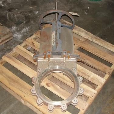 Valve 12 Fabri-Valve gate valve, hand wheel, Stainless Steel